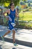 Triathlon mężczyzna Obrazy Stock