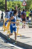 Triathlon man Stock Photos