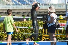 Triathlon Stock Image