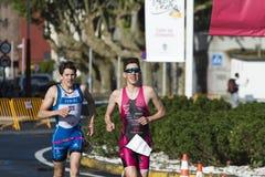 Triathlon Stock Photo