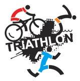 Triathlon race. Royalty Free Stock Photography