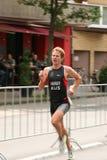 Triathlon running Royalty Free Stock Photo