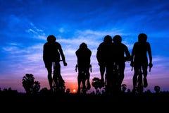 Triathlon sport at mountain Royalty Free Stock Photography