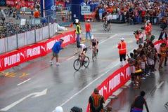 Triathlon Suráfrica 2008 de Ironman Imágenes de archivo libres de regalías
