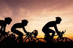 Triathlon in Tailandia fotografia stock libera da diritti
