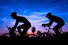 Triathlon in Thailand Stockfotografie
