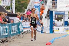 Triathlon. Triahtlon worldcup in Holten Holland Stock Photography