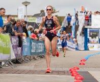 Triathlon. Triahtlon worldcup in Holten Holland Royalty Free Stock Photo