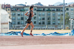 Triathlon woman Royalty Free Stock Photos