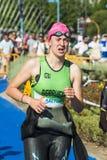 Triathlon women swimmers Royalty Free Stock Photography