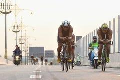 Triathlonfahrrad Stockbilder