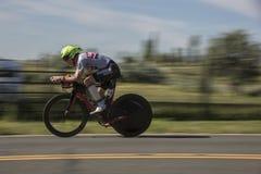 Triathlonrennläufer Lizenzfreies Stockfoto