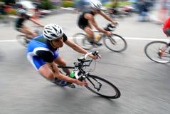 triathlonvärld 2008 Arkivfoto
