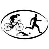 Triatlon Stock Afbeeldingen