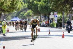 Triatlon Cesenatico 2017 stock afbeelding