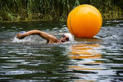 TRIATLON in Mali Stapar Royalty Free Stock Photos