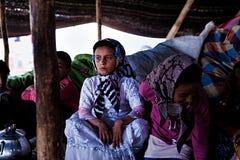 Tribù del nomade di Khamsheh Fotografia Stock Libera da Diritti