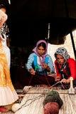 Tribù del nomade di Khamsheh Immagine Stock Libera da Diritti