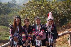 Tribù della collina Immagini Stock Libere da Diritti
