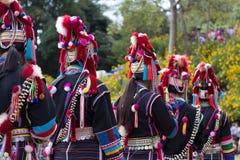 Tribù della collina Fotografia Stock Libera da Diritti