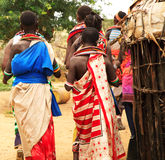 Tribù di Samburu immagine stock
