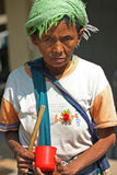 Tribù nomade Immagine Stock