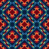 Tribal abstract seamless pattern aztec geometric Royalty Free Stock Photography