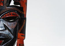 Tribal-african mask Stock Images
