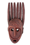 Tribal african mask fingers Stock Images