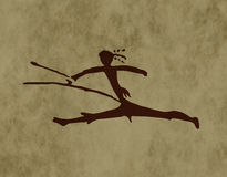 Tribal archer Royalty Free Stock Images