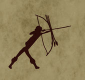 Tribal archer Stock Photo
