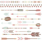 Tribal Arrow Collections Royalty Free Stock Image