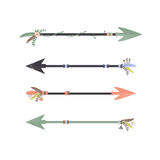 Tribal Arrows Royalty Free Stock Images