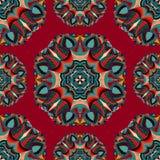 Tribal art boho seamless pattern. Ethnic geometric print. Royalty Free Stock Photo
