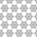 Tribal art ethnic seamless pattern. Boho print. Ethno ornament Royalty Free Stock Images