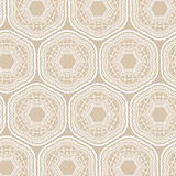 Tribal art ethnic seamless pattern. Boho print. Ethno ornament Stock Photos