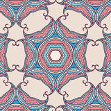 Tribal art ethnic seamless pattern. Boho print. Ethno ornament Stock Image