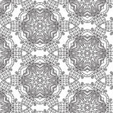 Tribal art ethnic seamless pattern. Boho print. Ethno ornament Royalty Free Stock Image