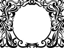 Tribal art frame Royalty Free Stock Image