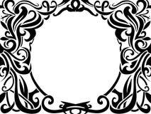 Tribal art frame Royalty Free Stock Image