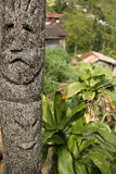Tribal art ifugao totem pole batad Royalty Free Stock Photos