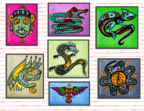 Tribal Art Royalty Free Stock Photo