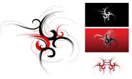 Tribal art set Royalty Free Stock Images