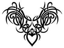 Tribal art, wings royalty free stock photography