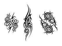 Tribal Artwork Collection Royalty Free Stock Photos