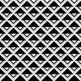 Tribal aztec abstract squares seamless pattern Royalty Free Stock Images