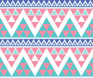 Tribal aztec colorful seamless pattern Stock Image