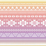 Tribal aztec ombre seamless pattern Stock Photography