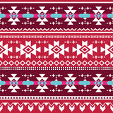 Tribal aztec  seamless pattern Stock Photo