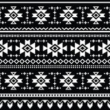 Tribal aztec  seamless pattern, print Royalty Free Stock Photo